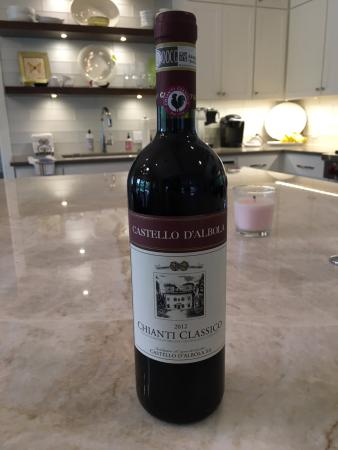Tuscany Wine and Bike - Day Tour: Chianti Classico with the tell-tale black rooster and DOCG label!