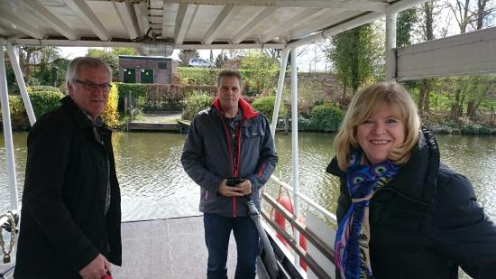 Arkel, Paesi Bassi: Op het veerbootje