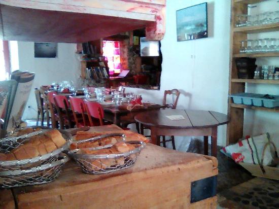 Trompe-Souris Cafe: intérieur vintage