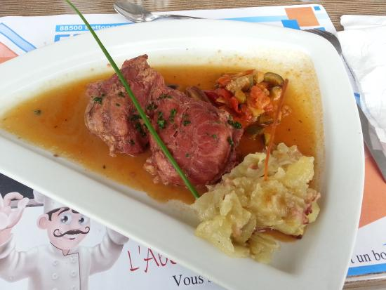 Mirecourt, Francia: Joue de porc