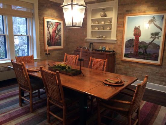 Stonover Farm Bed and Breakfast: Dining Room