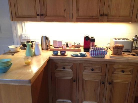 Stonover Farm Bed and Breakfast: Breakfast spread