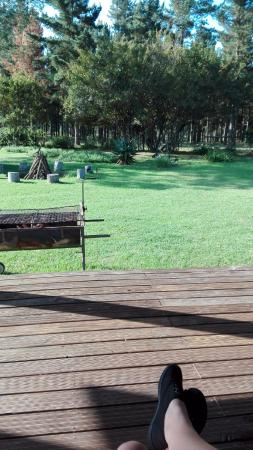 Bella Manga Country House: View from the deck