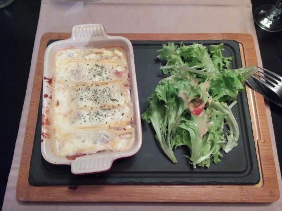 Gourette, France : Tartiflette aux crozets