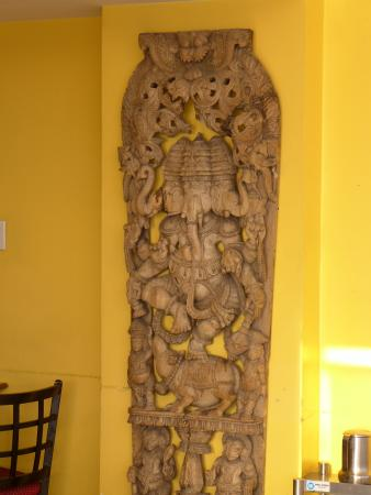 South Indian Relief Wall Decor