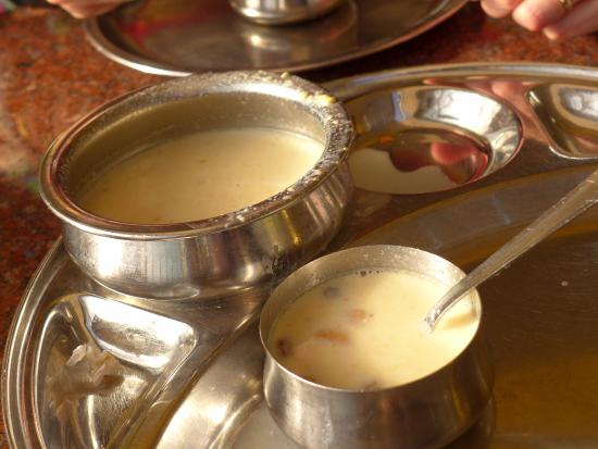 Nilgiris: warm sweet milk dessert