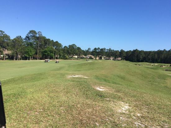 Orange Park, FL: 2 fivesomes on one hole...makes for a long, long, long day.