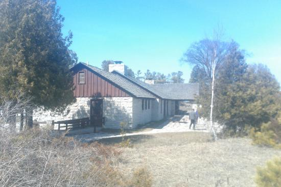 Point Beach State Forest: consession  building