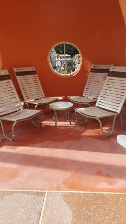 this is one of the cones from the cars themed pool area picture rh tripadvisor com