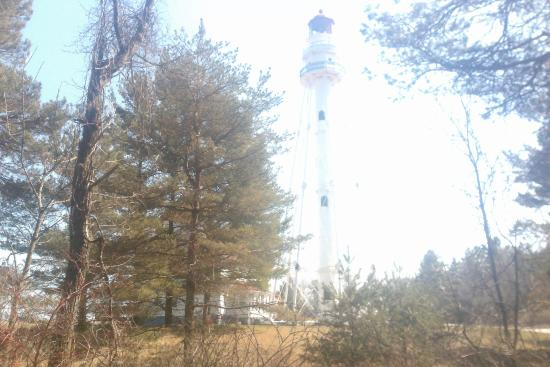 Point Beach State Forest: Lighthouse (off limits to public)