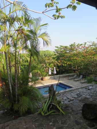 Villas del Rey: The pool, late afternoon