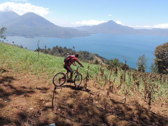 Atitlan Adventure Tours: biking tour panajachel