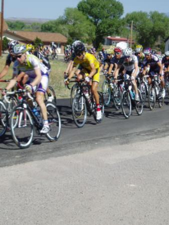 The Tour de Gila comes through every year