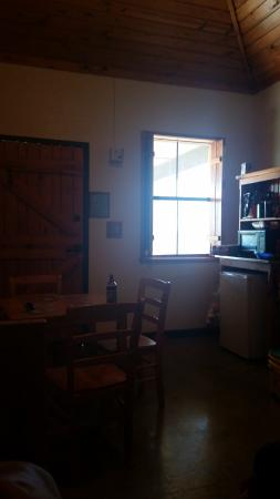 Colorado City, TX: inside cabin facing the Front Door