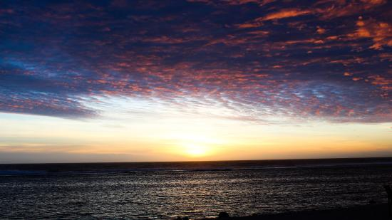 sunset view from a deck chair outside manuia resort picture of rh tripadvisor ca