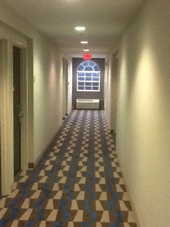 Microtel Inn & Suites by Wyndham Brooksville: No hell in these hallways!
