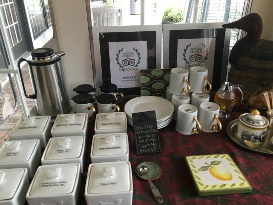 Granville, OH: Selection of exquisite teas
