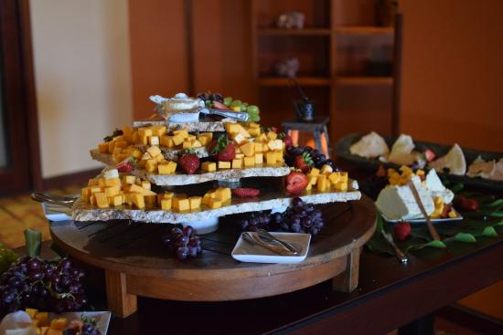 Voyager Lanai: Cheese Display-Flying Lobster Buffet
