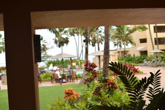 Voyager Lanai: View from Table at the Flying Lobster Buffet-Voyager Restaurant