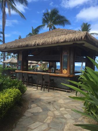Koi pond picture of beach villas at ko olina kapolei for Koi pool villa