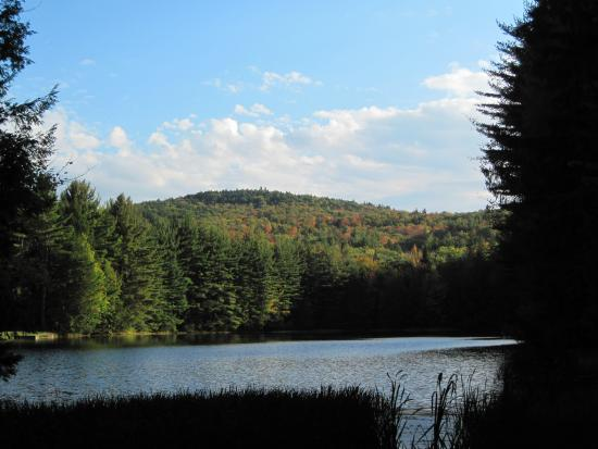 Corinth, NY: The Upper Reservoir in Fall