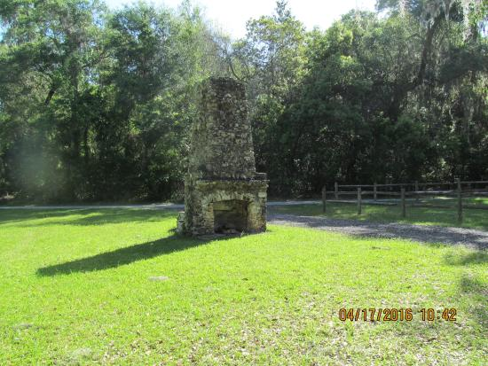 Brooksville, Floride : Old Freplace