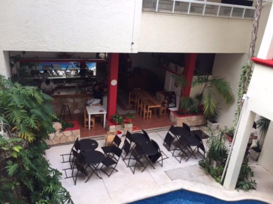 Hotel Maya Turquesa: Great wifi in this area.