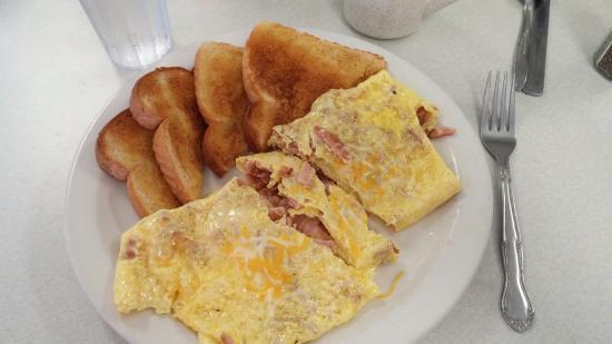Mora, MN: Old fashioned ham & Eggs!