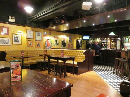 inside the basement bar that is delany s irish pub 18 apr 16 rh en tripadvisor com hk