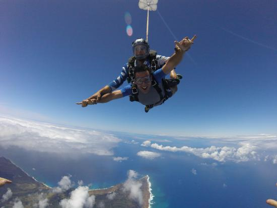 Skydiving In Hawaii With Pacific Skydiving Center Nathan And Jason Picture Of Pacific Skydiving Center Haleiwa Tripadvisor