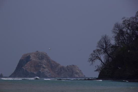 Nicoya, Costa Rica: Vista desde la playa en Cabo Blanco