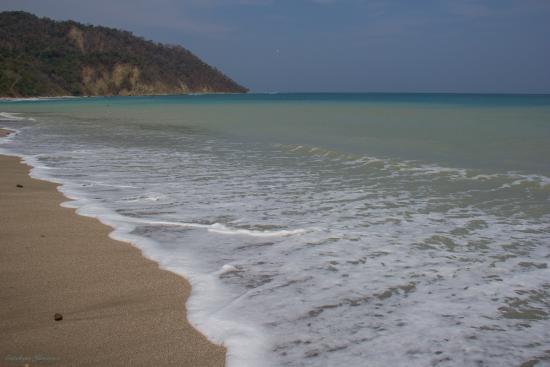 Nicoya, Κόστα Ρίκα: Vista desde la playa en Cabo Blanco