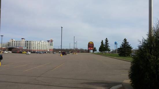 Onamia, MN: View of the hotel