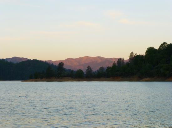 Bridge Bay At Shasta Lake Sunrise