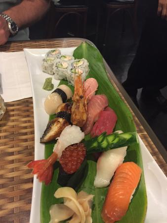 Noboru Japanese Restaurant: The food was awesome.  Truly authentic Japanese sushi and noodles.