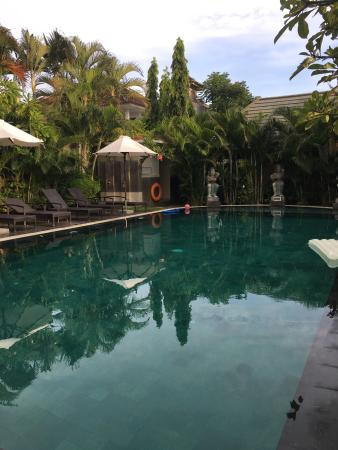 private pool and sunbeds picture of new pondok sara villa rh tripadvisor com au