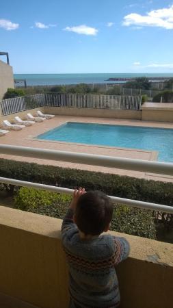 Alizéa Beach : Vue de la terrasse.