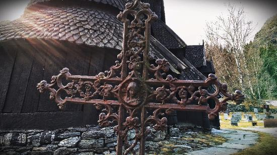 Borgund Stave Church: Some Of The Graves Go Back Awhile