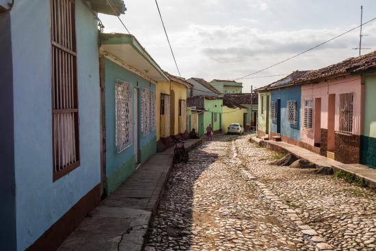 The quiet, picturesque street on which Dr Amaro lives (183463497)