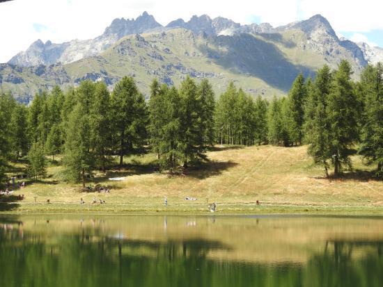 Chamois, Italy: Lago