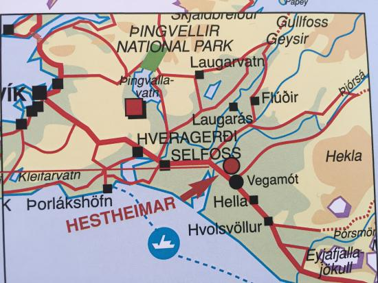 Map of Hestheimar´s location in South Iceland - Picture of ... Iceland Map Location on iceland visitors map, iceland in europe map, iceland map tourist spots, iceland horse wallpaper, iceland atlas map, iceland top attractions map, silfra lake map, iceland aerial view, iceland mineral map, laugavegur trail map, iceland activity map, iceland by bike, iceland hverfjall, iceland materials map, iceland scenery wallpaper, iceland area map,