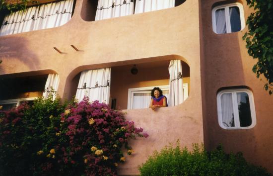 Le Tafilalet: eu e as flores na varanda....