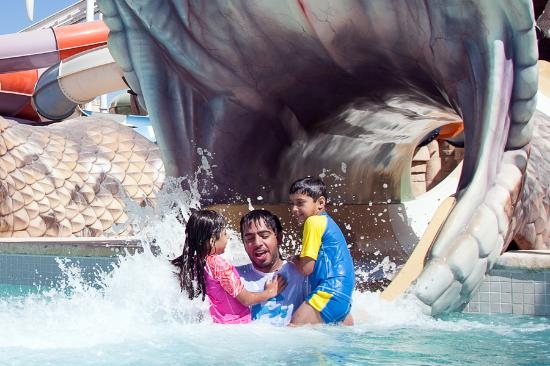Abu Dhabi, United Arab Emirates: Fun Splash
