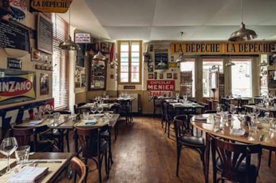 Restaurant le bistrot de l 39 etoile dans toulouse avec for O cuisine toulouse