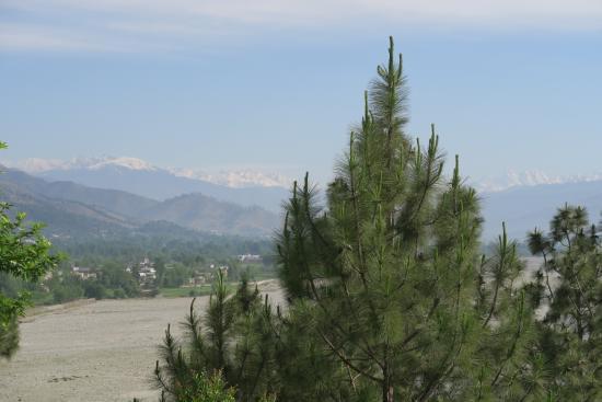 Saidu, Pakistán: View from the room's balcony