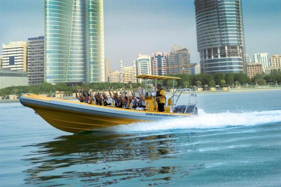 Abu Dhabi, United Arab Emirates: Yellow Boat Rides
