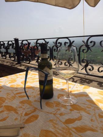 vista dal terrazzo - Foto di Le Terrazze di Properzio, Assisi ...