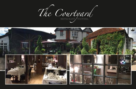 Chipping Ongar, UK: Welcome to the The Greenman & Courtyard