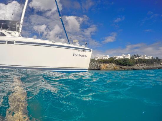 Симпсон-Бей, Сен-Мартен – Синт-Мартен: Look at the color of the water!