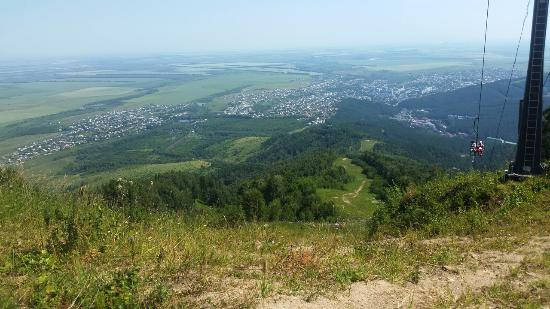 Гора Церковка: Промежуточный вид